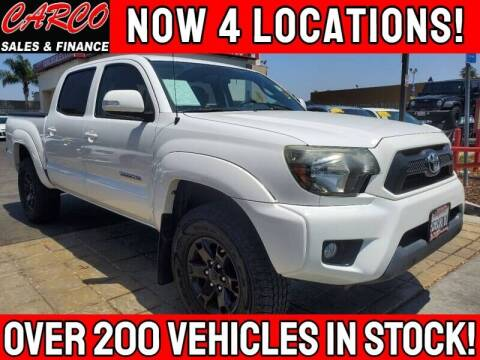 2014 Toyota Tacoma for sale at CARCO SALES & FINANCE - CARCO OF POWAY in Poway CA