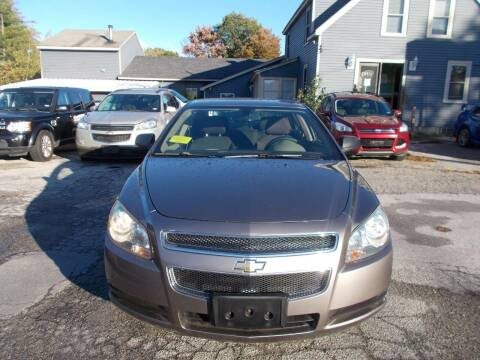 2011 Chevrolet Malibu for sale at Manchester Motorsports in Goffstown NH