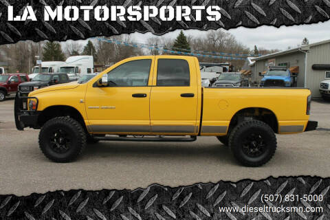 2005 Dodge Ram Pickup 2500 for sale at LA MOTORSPORTS in Windom MN