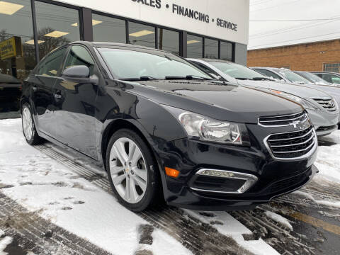 2016 Chevrolet Cruze Limited for sale at Abrams Automotive Inc in Cincinnati OH