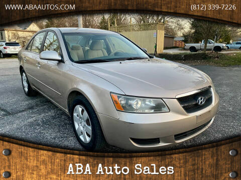 2007 Hyundai Sonata for sale at ABA Auto Sales in Bloomington IN