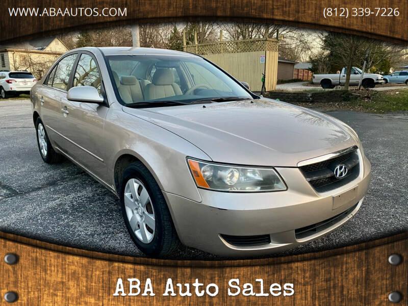 2007 Hyundai Sonata for sale at ABA Auto Sales in Bloomington IN