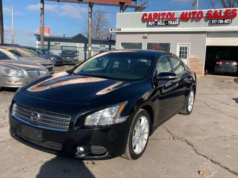 2010 Nissan Maxima for sale at Capitol Auto Sales in Lansing MI