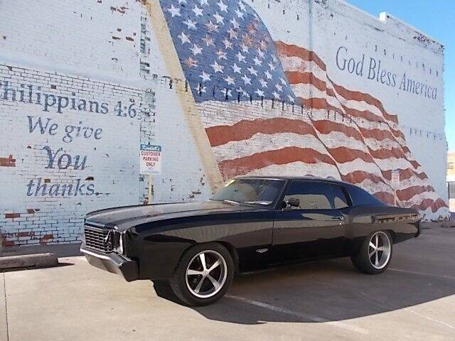1972 Chevrolet Monte Carlo for sale at LARRY'S CLASSICS in Skiatook OK