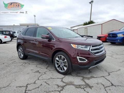 2018 Ford Edge for sale at GATOR'S IMPORT SUPERSTORE in Melbourne FL