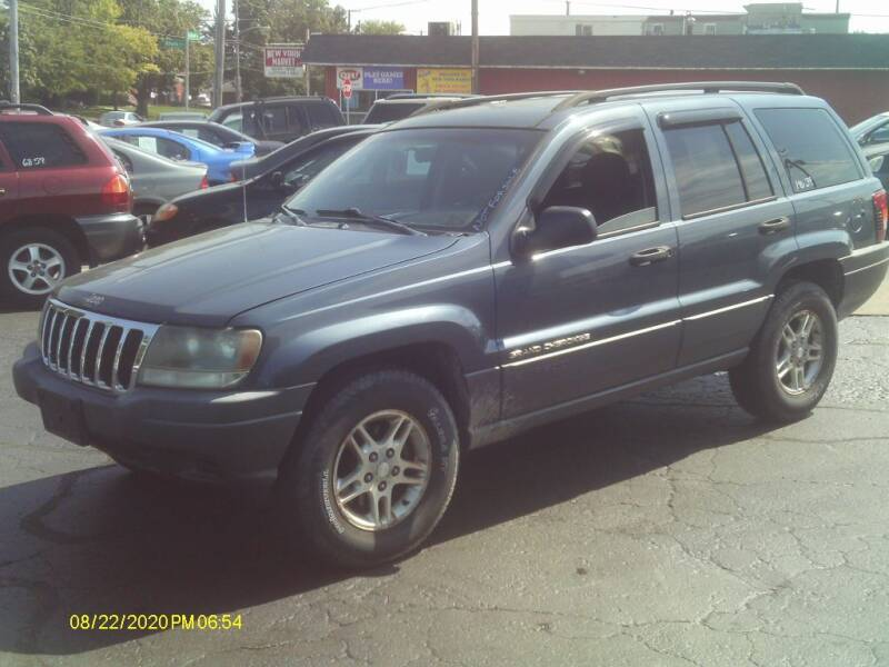 2002 Jeep Grand Cherokee for sale at Flag Motors in Columbus OH