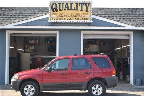 2005 Ford Escape for sale at Quality Pre-Owned Automotive in Cuba MO