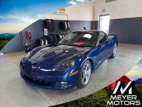 2007 Chevrolet Corvette for sale at Meyer Motors in Plymouth WI