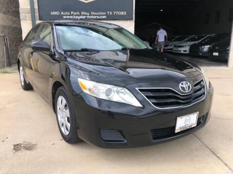 2010 Toyota Camry for sale at KAYALAR MOTORS - ECUFAST HOUSTON in Houston TX