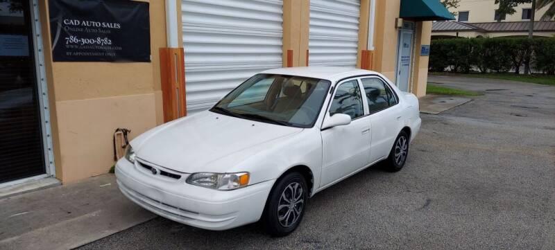 1999 Toyota Corolla for sale at Cad Auto Sales Inc in Miami FL