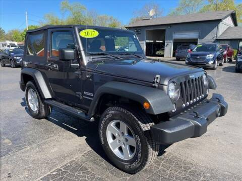 2017 Jeep Wrangler for sale at HUFF AUTO GROUP in Jackson MI