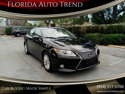 2014 Lexus ES 300h for sale at Florida Auto Trend in Plantation FL