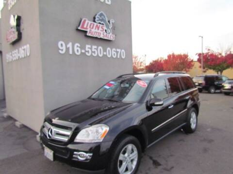 2007 Mercedes-Benz GL-Class for sale at LIONS AUTO SALES in Sacramento CA