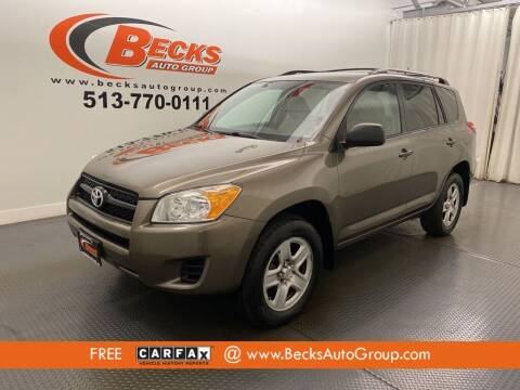 2011 Toyota RAV4 for sale at Becks Auto Group in Mason OH