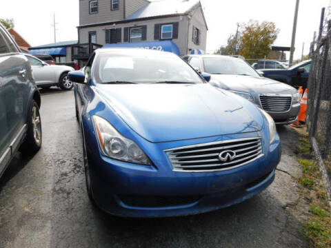 2010 Infiniti G37 Convertible for sale at WOOD MOTOR COMPANY in Madison TN