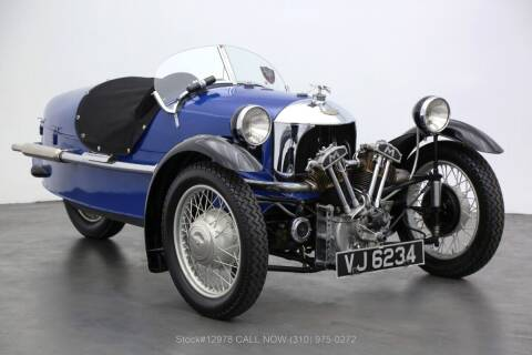1934 Morgan Super Sport 3 Wheeler