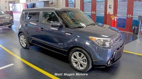2016 Kia Soul for sale at Matt Hagen Motors in Newport NC