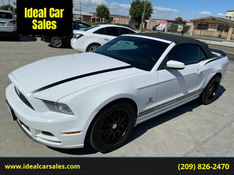 2014 Ford Mustang for sale at Ideal Car Sales in Los Banos CA