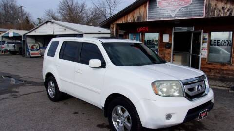 2009 Honda Pilot for sale at LEE AUTO SALES in McAlester OK