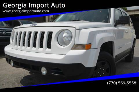 2012 Jeep Patriot for sale at Georgia Import Auto in Alpharetta GA