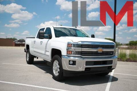2015 Chevrolet Silverado 2500HD for sale at INDY LUXURY MOTORSPORTS in Fishers IN