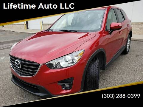 2016 Mazda CX-5 for sale at Lifetime Auto LLC in Commerce City CO