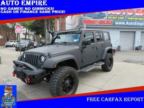 2017 Jeep Wrangler Unlimited for sale at Auto Empire in Brooklyn NY