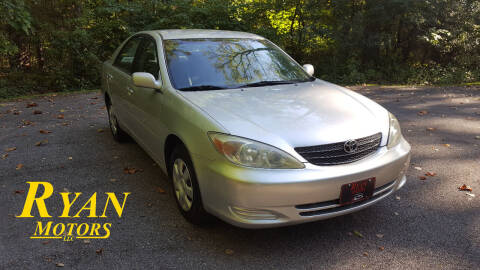 2004 Toyota Camry for sale at Ryan Motors LLC in Warsaw IN