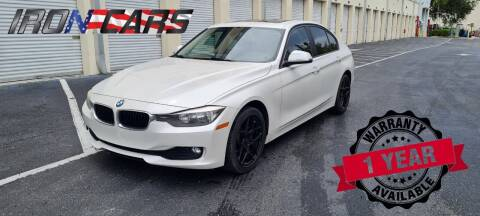 2015 BMW 3 Series for sale at IRON CARS in Hollywood FL