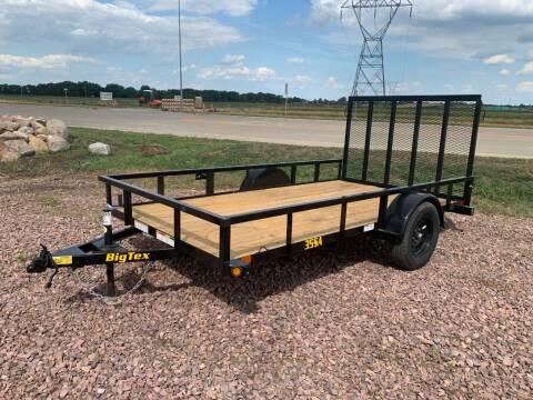 2022 Big Tex 35SA-12 #5055 for sale at Prairie Wind Trailers, LLC in Harrisburg SD