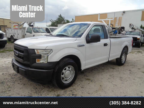 2016 Ford F-150 for sale at Miami Truck Center in Hialeah FL