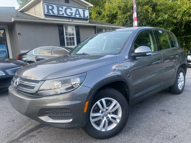 2013 Volkswagen Tiguan for sale at Regal Auto Sales in Marietta GA