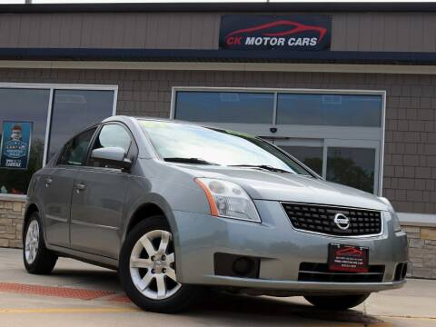2007 Nissan Sentra for sale at CK MOTOR CARS in Elgin IL