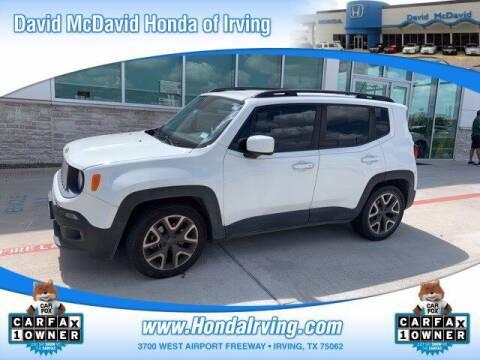 2015 Jeep Renegade for sale at DAVID McDAVID HONDA OF IRVING in Irving TX