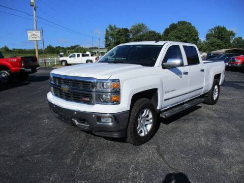 2014 Chevrolet Silverado 1500 for sale at Jones Auto Sales in Poplar Bluff MO