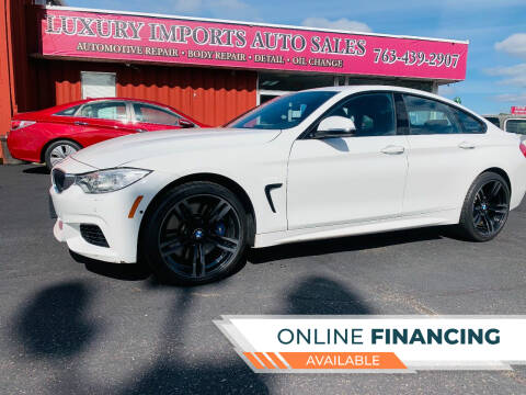 2017 BMW 4 Series for sale at LUXURY IMPORTS AUTO SALES INC in North Branch MN