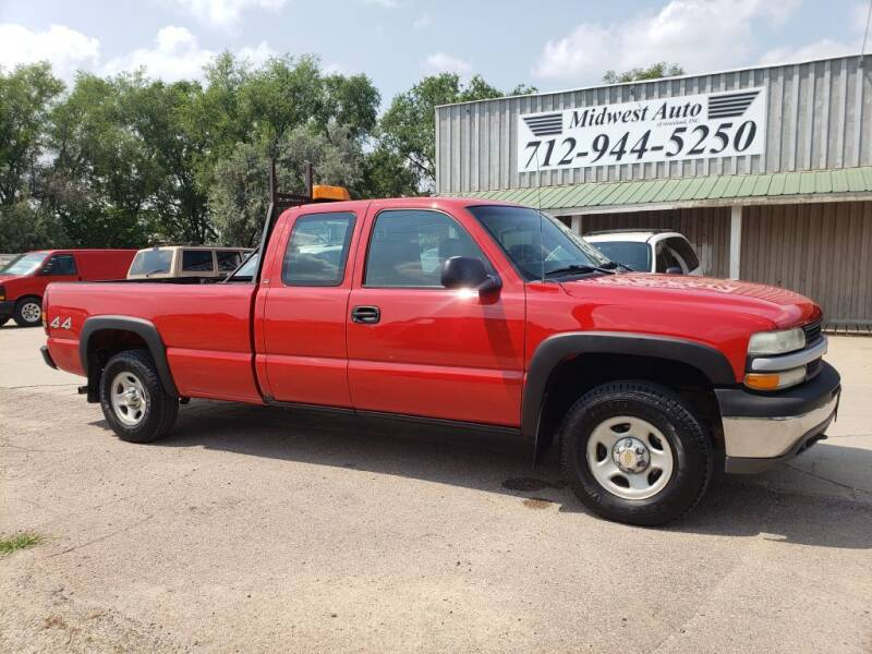 2002 Chevrolet Silverado 1500 for sale at Midwest Auto of Siouxland, INC in Lawton IA