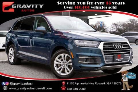 2018 Audi Q7 for sale at Gravity Autos Roswell in Roswell GA