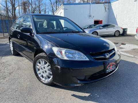 2005 Honda Civic for sale at JerseyMotorsInc.com in Teterboro NJ