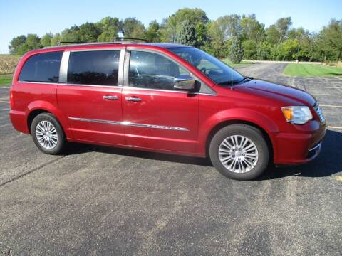 2013 Chrysler Town and Country for sale at Crossroads Used Cars Inc. in Tremont IL