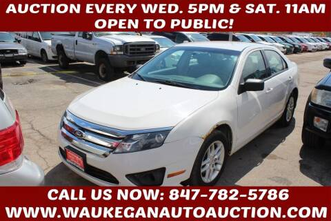 2012 Ford Fusion for sale at Waukegan Auto Auction in Waukegan IL