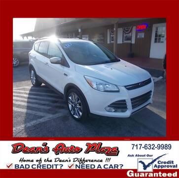 2014 Ford Escape for sale at Dean's Auto Plaza in Hanover PA