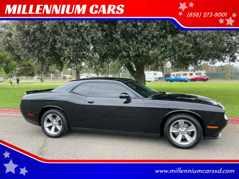 2015 Dodge Challenger for sale at MILLENNIUM CARS in San Diego CA