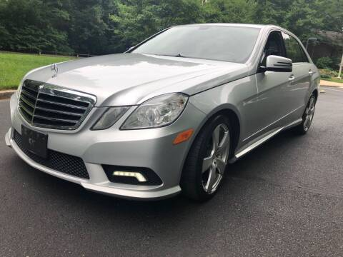 2011 Mercedes-Benz E-Class for sale at Bowie Motor Co in Bowie MD