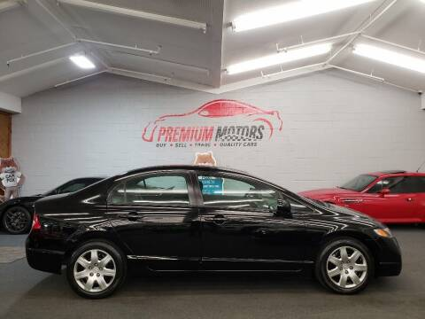 2010 Honda Civic for sale at Premium Motors in Villa Park IL