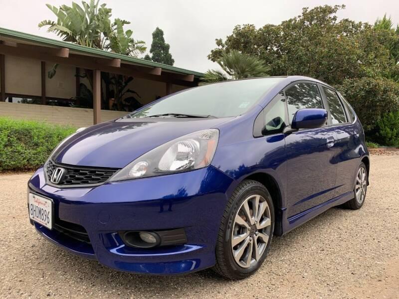 2012 Honda Fit for sale at Santa Barbara Auto Connection in Goleta CA