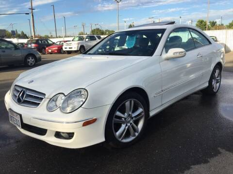 2006 Mercedes-Benz CLK for sale at Dealer Finance Auto Center LLC in Sacramento CA