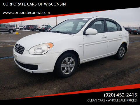 2009 Hyundai Accent for sale at CORPORATE CARS OF WISCONSIN - DAVES AUTO SALES OF SHEBOYGAN in Sheboygan WI