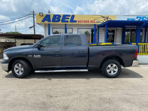 2017 RAM Ram Pickup 1500 for sale at Abel Motors, Inc. in Conroe TX