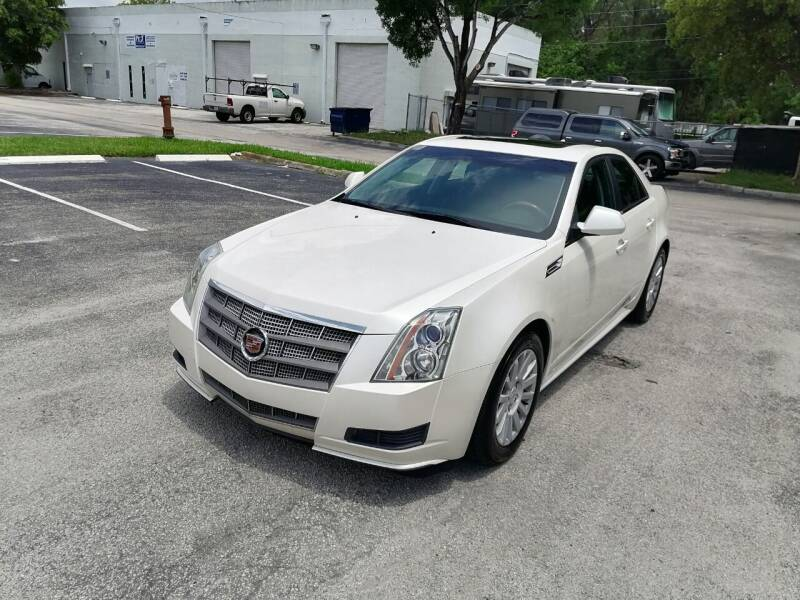 2010 Cadillac CTS for sale at Best Price Car Dealer in Hallandale Beach FL